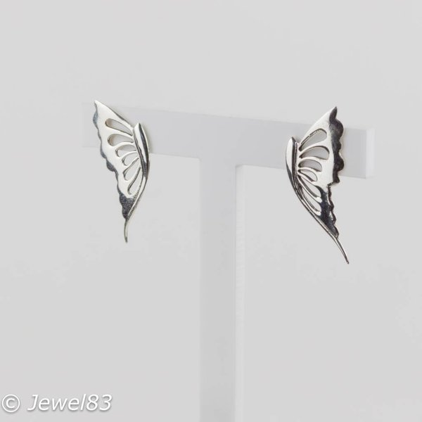 925e Butterfly earrings
