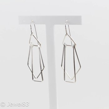 925e Cubism earrings