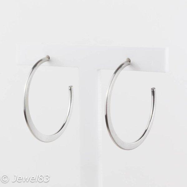 Fiell Silver ring earrings