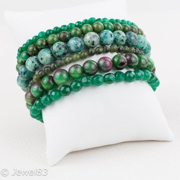 Sweet 7 Green bracelet set