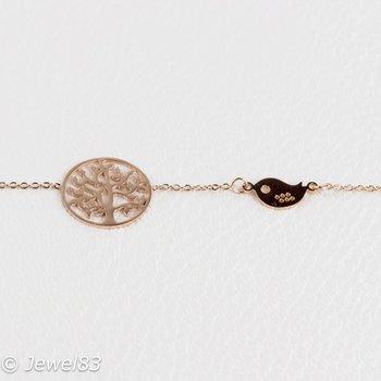 DODI Tree + bird bracelet