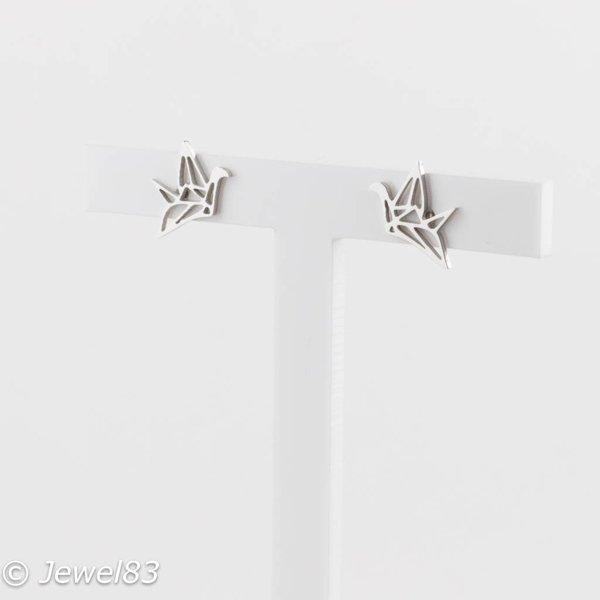 DODI Origami bird earrings