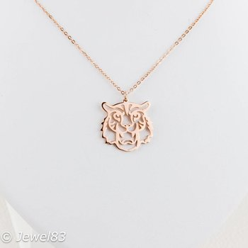 DODI Rose tiger necklace