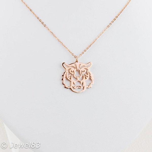 DODI Rose tiger necklace