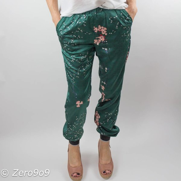 CO'COUTURE Floral glory pants (S)