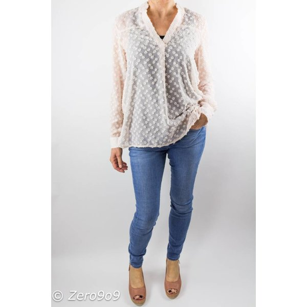 French Connection Lucy sheer shirt