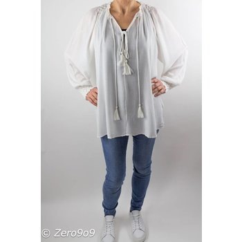 French Connection Oversized white shirt (XS)