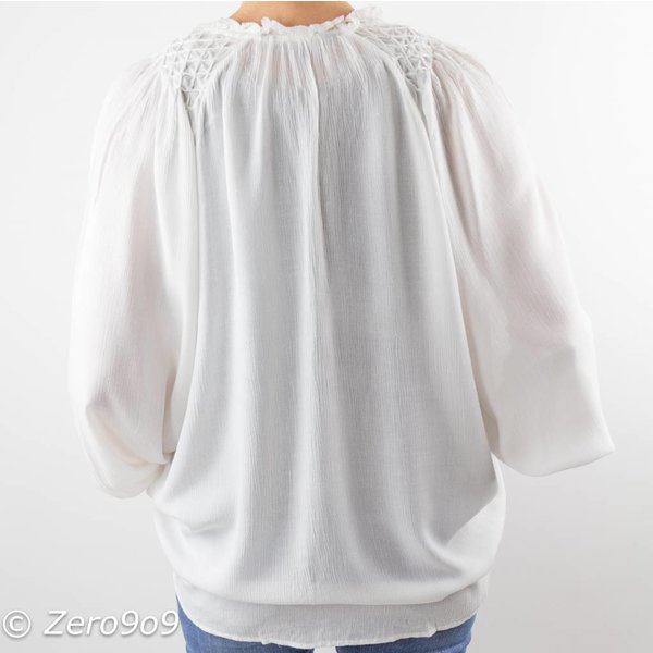 French Connection Oversized white shirt