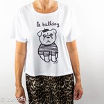 French Connection LE BULLDOG T-shirt (L)