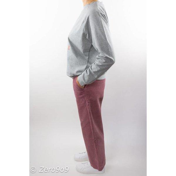 CO'COUTURE Rose corduroy pants (L)