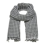 Selected Pied de poule scarf