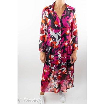 CO'COUTURE Chiffon frill dress (M)
