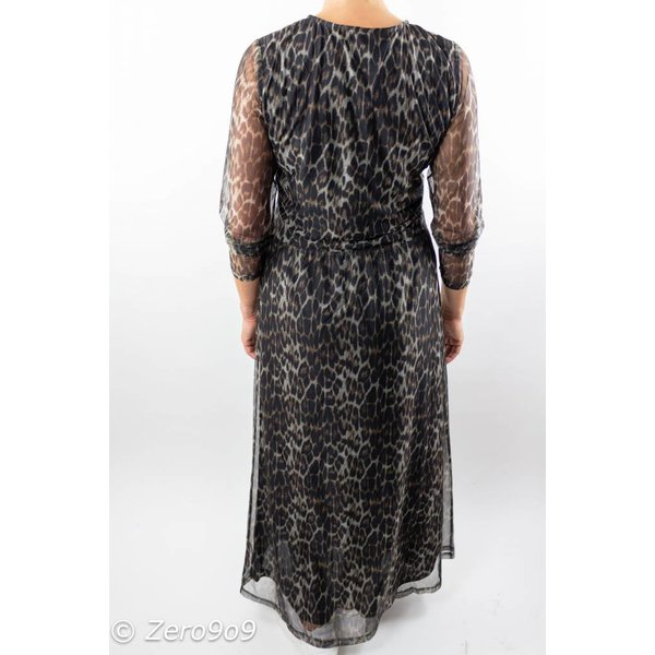 CO'COUTURE Animal mesh dress (XS)