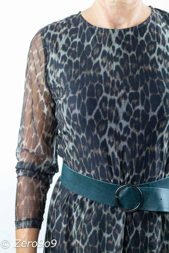 d562dadd ... CO'COUTURE Animal mesh dress