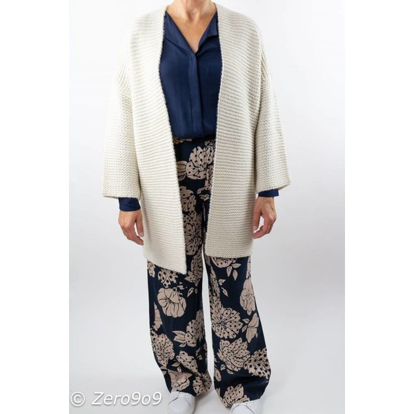 French Connection Oversized cream cardigan
