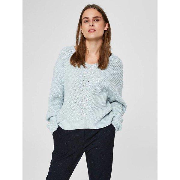 Selected Rose Vneck knit