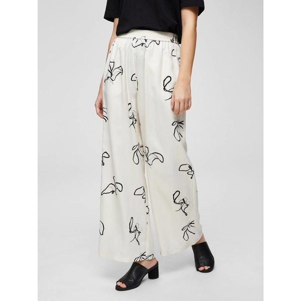 Selected Finera wide pant