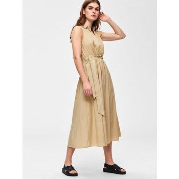 Selected classy safari ss dress