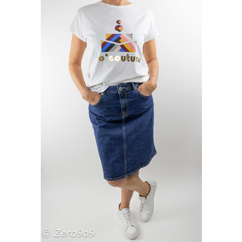 Selected Hayes jeans skirt