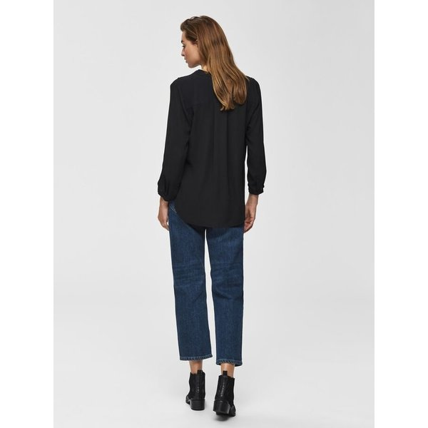 Selected Black Dyla Top