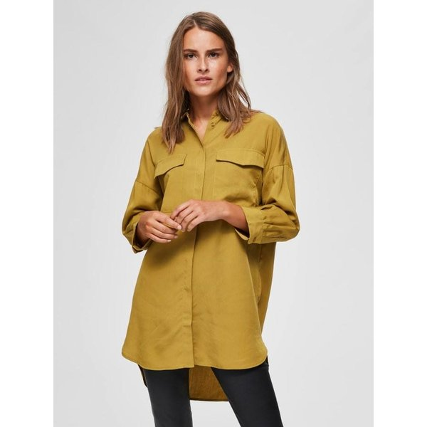 Selected Donna olive shirt