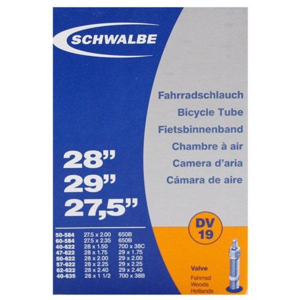 Schwalbe Binnenband Schwalbe DV19 27.5 inch / 28 inch / 29 inch Dunlop / Blitz Ventiel
