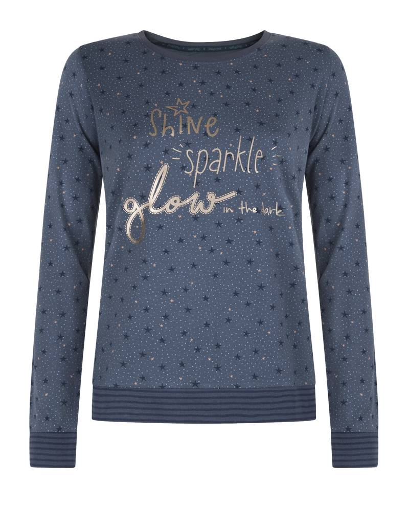Dames Pyjama Shirt Starry Sky | Pullover | Charlie Choe