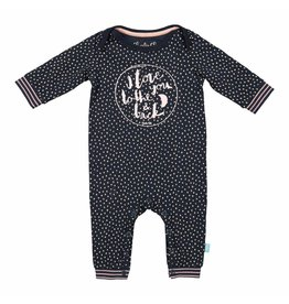 Baby Jumpsuit Forest Dots