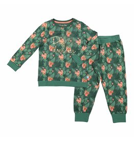 Pyjama Lounge Set Wild Woodland