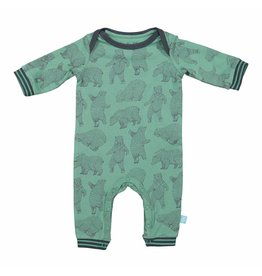 Baby Jumpsuit Malachite Green