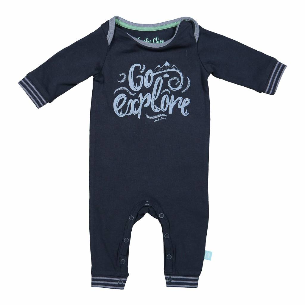 Baby Jumpsuit Blue Nights | Charlie Choe | 42Z-28914