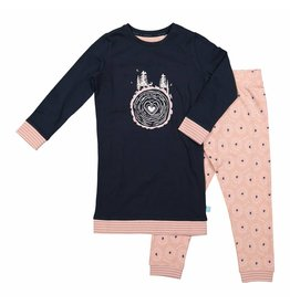 Pyjama Long Pullover Set Tree of Love