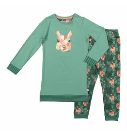 Pyjama Long Pullover Set Wild Woodland