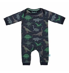 Baby Jumpsuit Blue Dino
