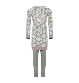 Pyjama Long Pullover Set Wild Flowers