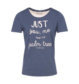 Pyjama T-Shirt Pretty Pink Palmtrees
