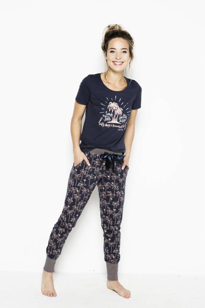 Women's Pyjama Bottoms Palmtrees | 38A-31161