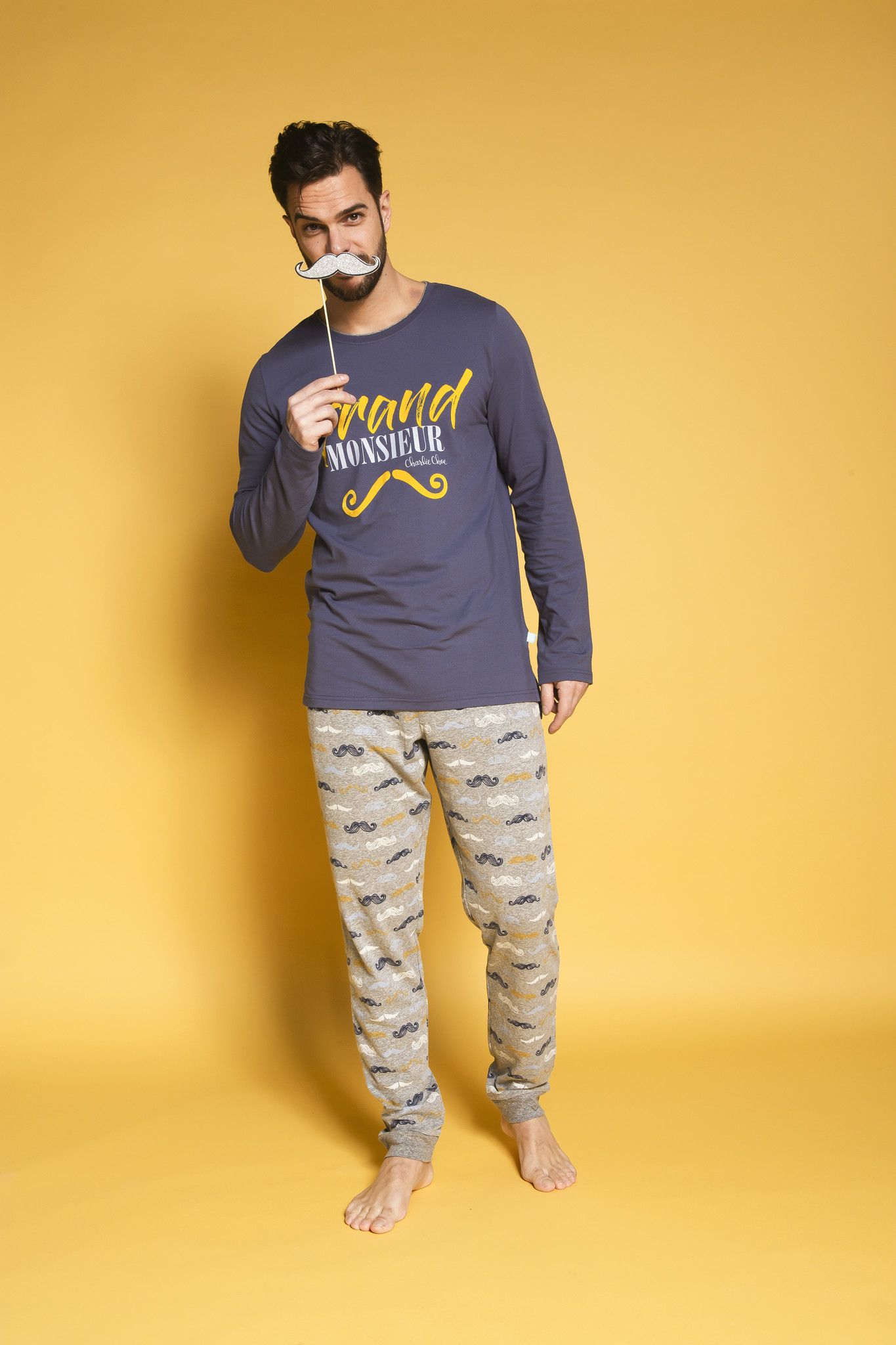 Heren Pyjamabroek Monsieur | 39B-33183