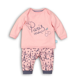 Baby Pyjama Lounge Set Paris Mon Cherie