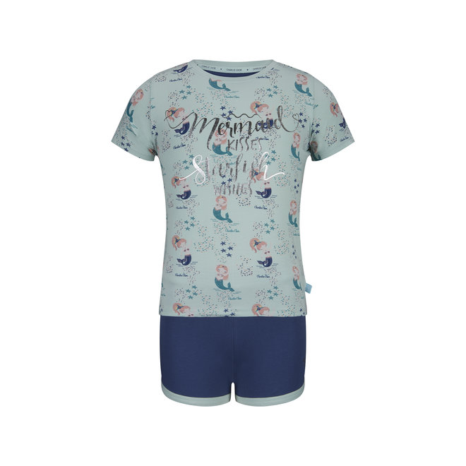 Meisjes Pyjama Short Set Mermaid Kisses