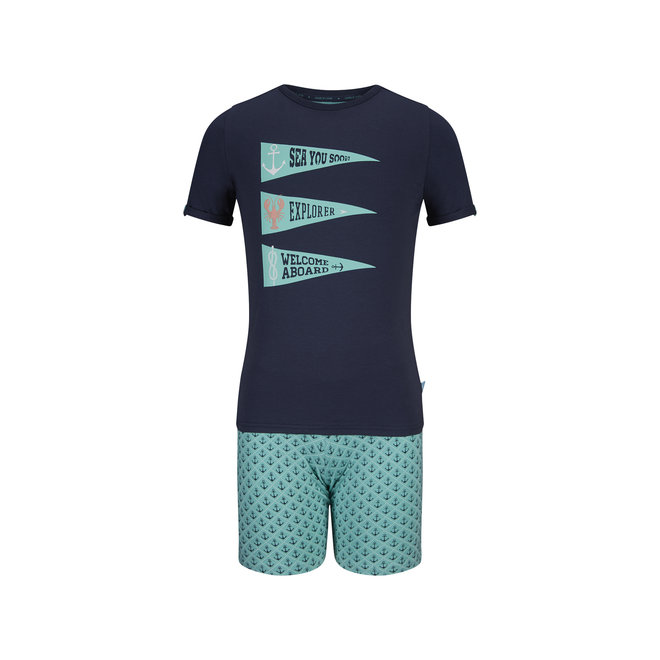 Boys' Pyjama Short Set Sea You Soon