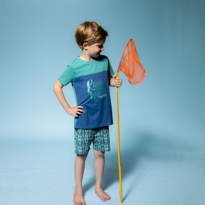 Boys' Pyjama Short Set Surf's Up