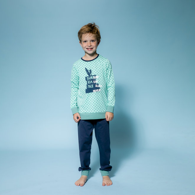 Boys' Pyjama Lounge Set Sea You Soon
