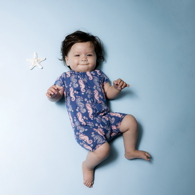 Mädchen Baby Jumpsuit The Only One in the Sea