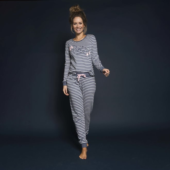 Ladies Pyjama Sweater Paris Mon Cherie