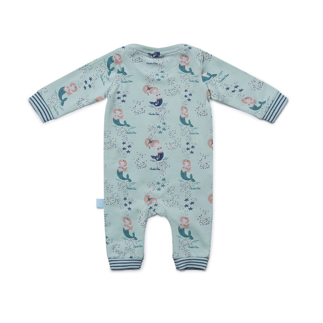 Girls' Baby Jumpsuit Mermaid Kisses