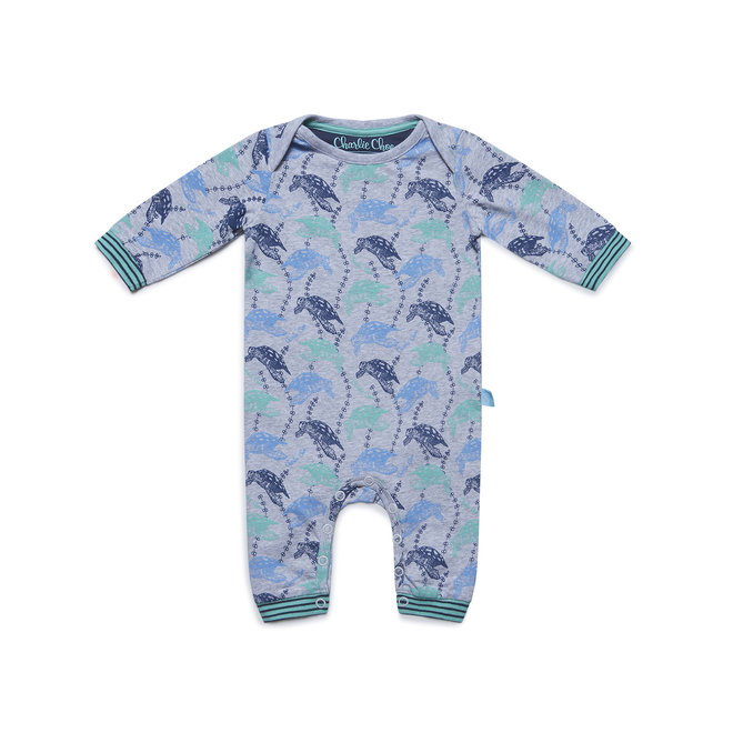 Boys' Baby Jumpsuit Sea You Soon
