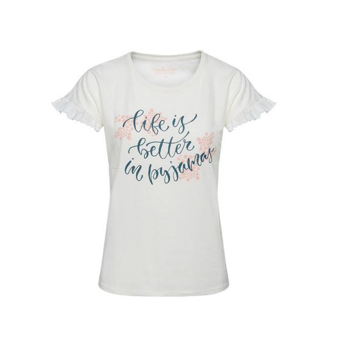 Dames Pyjama T-shirt Graceful Swans