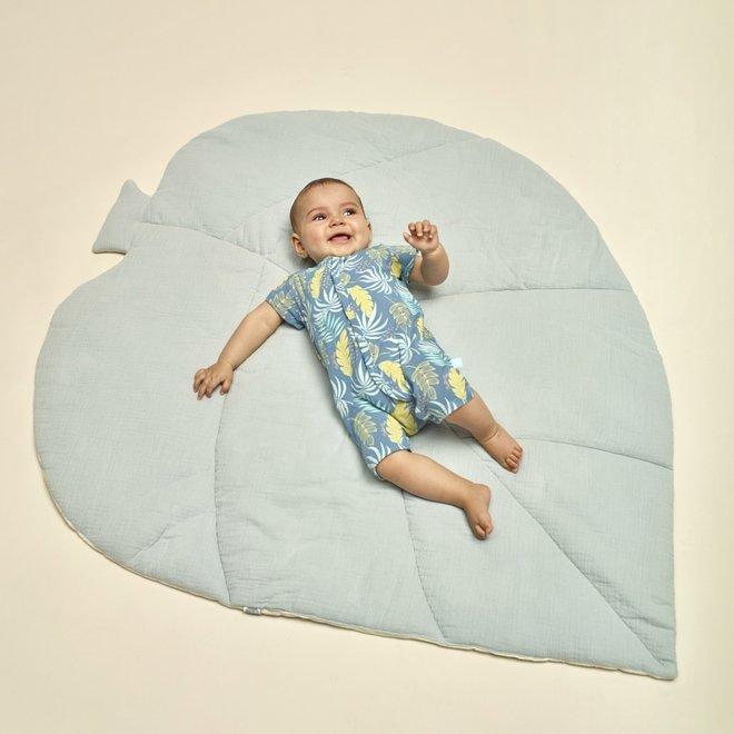 Charlie Choe Baby Meisjes Pyjama Blauw Palmprint