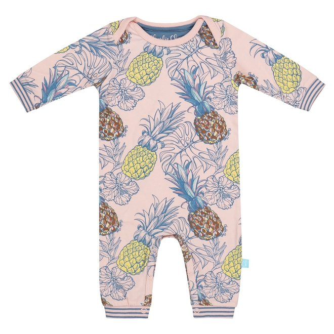 Charlie Choe Baby Girl Pyjamas Pink Pineapple